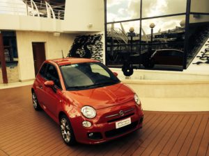 Fiat on board the MSC Divina