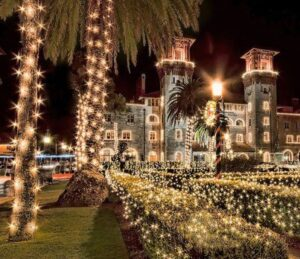 Lightner Museum at Holiday Time